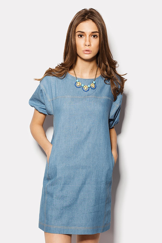 Платье из тонкой джинсы своими руками